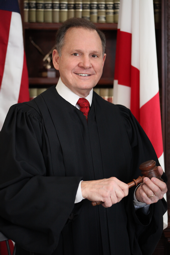 Alabama Supreme Court Chief Justice Roy Moore removed from office twice for ethics violations.